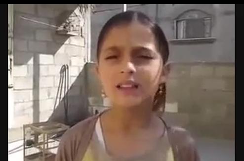 کلیپ/ پیام دختر فلسطینی به دولت اسرائیل