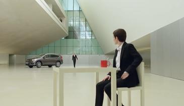 ویدئو; تبلیغ جالب هوندا با کمک نقاشی های سه بعدی